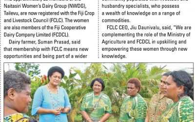 Women dairy farmers registered with FCLC